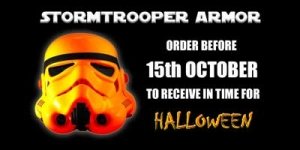 Star Wars Halloween Stormtrooper Armor orders 2018