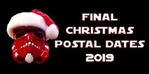 Christmas and New Year Final Postal Dates 2019