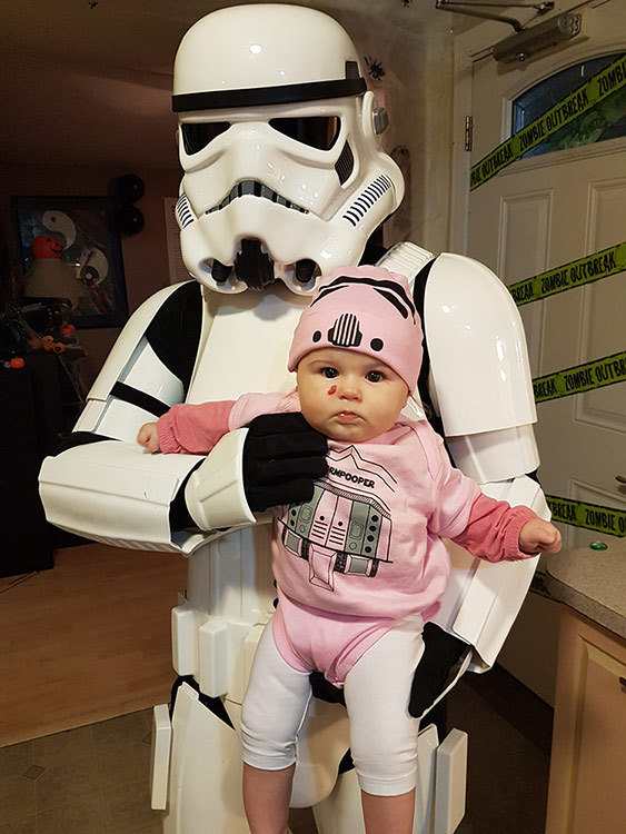 Tyler stormtrooper armor review costumes