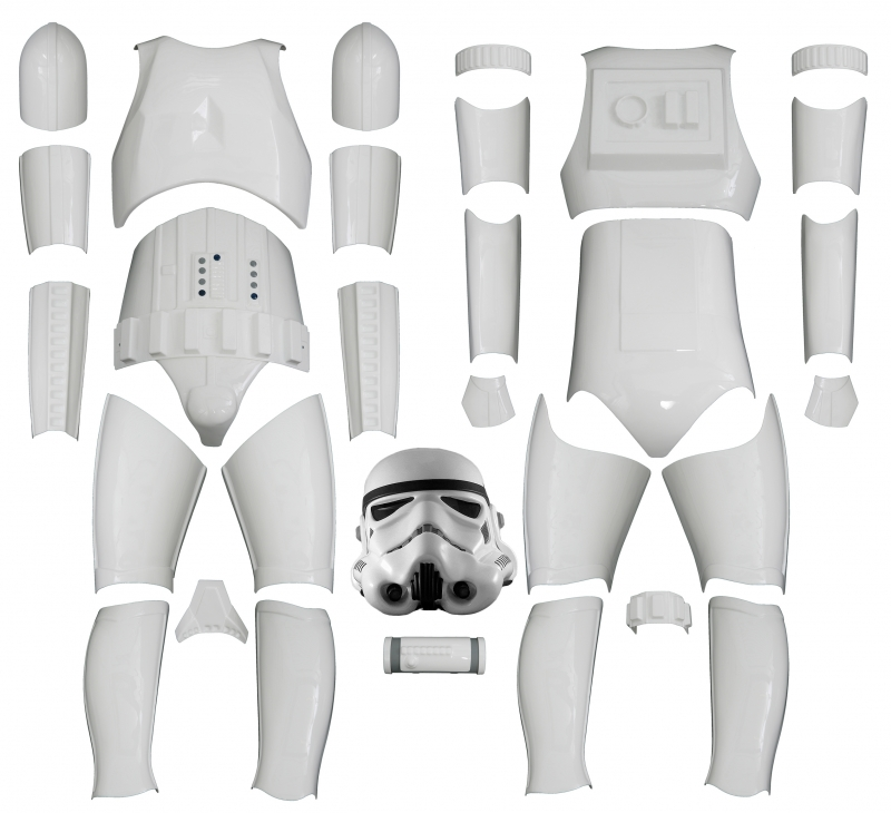from USA Right Thigh Ammo Pack Spare Part for a Stormtrooper Costume