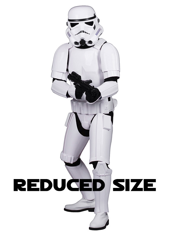White Ankle Boots for Star Wars Stormtrooper Costumes Pro Version